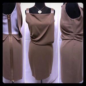 Escada side Zipper Dress